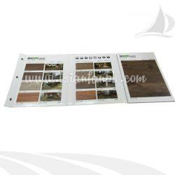 木地板样品册