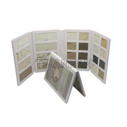 人造石英石石材样品册4折页石材塑料样品册石PY2123