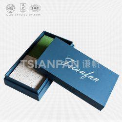 厂家直销石英石样品盒,瓷砖纸质样品盒,石材包装盒定制批发