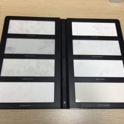 定制石英石样品册_塑料2折页花岗石样品册-PY2032