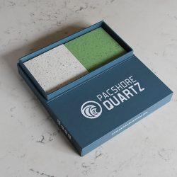 石英石瓦楞包装盒,石英石样品盒,瓷砖样品展示盒XW009