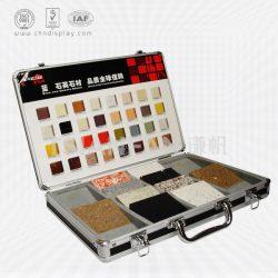 手提箱石英石样品盒 石材样品手提箱 可定制尺寸 XL078