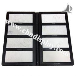 2折页石材样品册厂家批发,优质瓷砖塑料样品册PY2132
