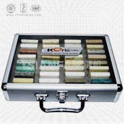 厦门厂家直销石英石样品铝箱 人造石铝合金箱批发 XL085