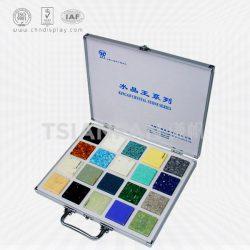 石英石样板箱 定制优质铝合金石材样品箱XL088