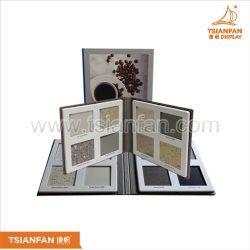 2折页石材样品册厂家批发,优质马赛克瓷砖塑料样品册PY2136