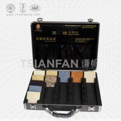 石材样品箱展示盒,供应最新石材样板盒样品箱,大理石色卡箱XL103