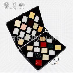 可定制的石英石人造石大理石样品展示盒,石英石箱子XL105
