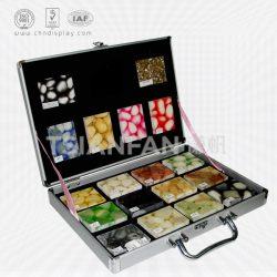 石英石手提色卡盒,高级石英石色卡铝箱厂家批发XL108