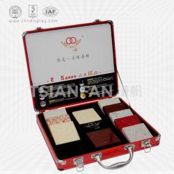 旭展铝箱铝盒大理石色卡箱,国产大理石色卡铝箱批发XL109