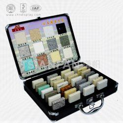 大理石纹硬壳小型手提箱,精品石英石样板手提箱厂家批发定制XL110