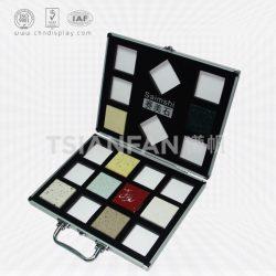 大理石纹硬壳小型手提箱,铝合金便携石材手提箱厂家批发XL113