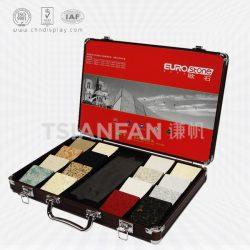 人造石铝合金箱厂家 人造石样品铝箱 可定制尺寸 XL080