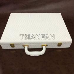 手提样品石英石箱,供应精品人造石手提箱,石材样品手提箱XL117