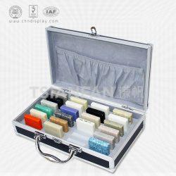 手提样品石英石箱, 供应石英石铝箱,人造石英石铝箱XL124