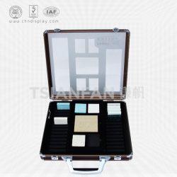 石英石色卡箱批发 手提铝合金箱子,厂家直销各种石材色卡箱XL125