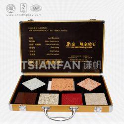 人造石样板手提箱 人造石铝合金手提箱 厂家批发 XL083