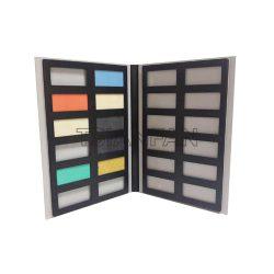 2折页石材样品册厂家批发,优质石英石瓷砖样品册PY2133